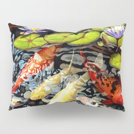 Koi & Waterlilies Pillow Sham