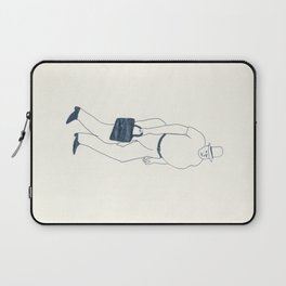 man with briefcase Laptop Sleeve