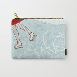 Ice Skating Carry-All Pouch