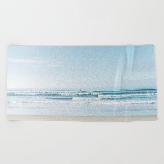 California Surfing Beach Towel
