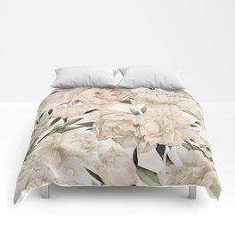 Peonies Pattern Comforters
