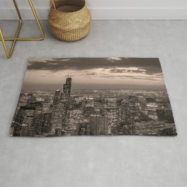 Chicago by Night Rug