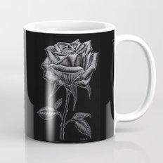 Silver Rose Mug