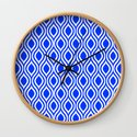 Blue Modern Classic Seamless Pattern by myart23