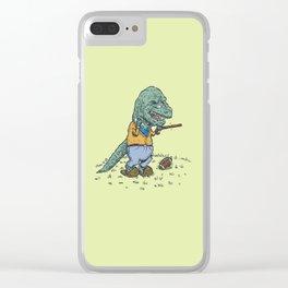 Geriatricasaur Clear iPhone Case