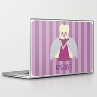 virgo Laptop & iPad Skins featuring Virgo by Esther Ilustra