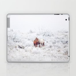 Two Winter Horses Laptop & iPad Skin