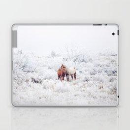 Two Winter Horses Laptop & iPad Skin