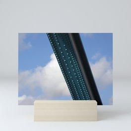 Steel beam Mini Art Print