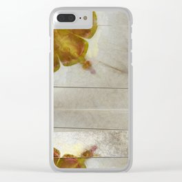 Unmuscular Configuration Flower  ID:16165-031505-06721 Clear iPhone Case