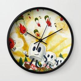 Camp Mellowfire Wall Clock