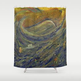 Rosetta Stone Shower Curtain
