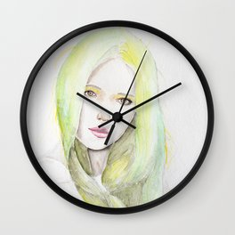 Spring Delicacies Wall Clock