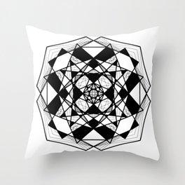 Mandala 0009 Throw Pillow