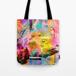 Hyper - Rhino Steez Tote Bag