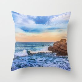 Bay of Biscay Throw Pillow