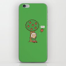 Gravity is a lie iPhone & iPod Skin