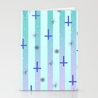 pastel goth Stationery Cards featuring Pastel Goth Pattern by HaruShadows