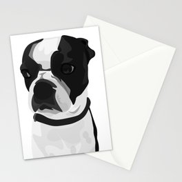 Tucker the Boston Terrier Stationery Cards