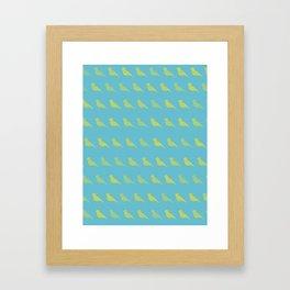 Bird PoP Framed Art Print