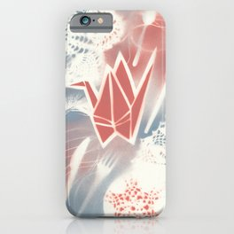 Domestic arts spray painting iPhone Case