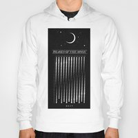 calendar Hoodies featuring 2015 Moon Calendar by Nick Wiinikka