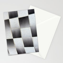 White to Black Stationery Cards