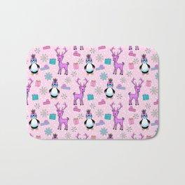 Penguin in a Pink Tutu Bath Mat