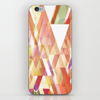 prism iPhone & iPod Skins featuring Prism by Nest 6
