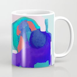 Magma in blue (and light blue) Coffee Mug