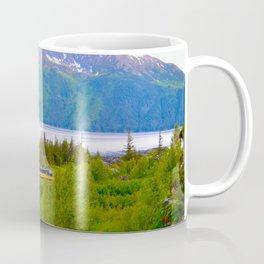 Alaska Passenger Train - Bird Point Coffee Mug