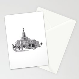 Draper Utah LDS Temple Stationery Cards