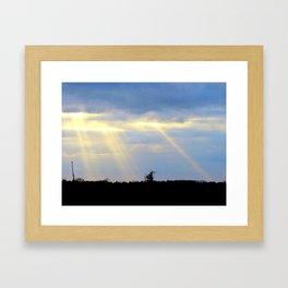 Spears Framed Art Print