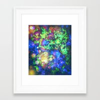 chaos Framed Art Prints featuring Chaos by ArtByRobin