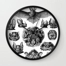 Ernst Haeckel Bats Wall Clock