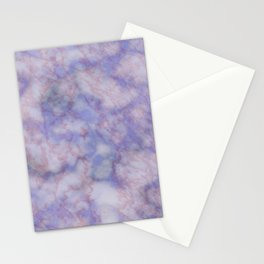 Modern lavender lilac rose gold marble Stationery Cards