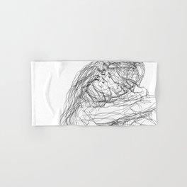 make-out? (B & W) Hand & Bath Towel