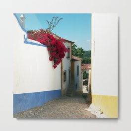 Portugal, Obidos (RR 180) Analog 6x6 odak Ektar 100 Metal Print