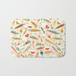 Fishing Lures Bath Mat