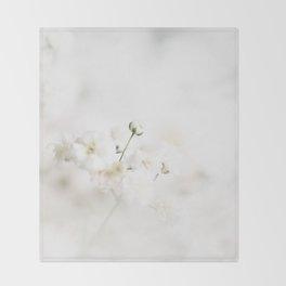 Gypsophila Throw Blanket