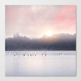 Sunset v6 Canvas Print