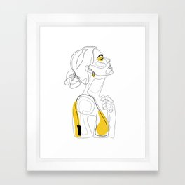 Color Beauty Framed Art Print