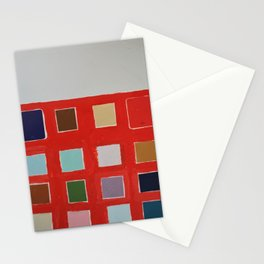 paint sample abstraction Stationery Cards