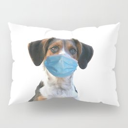Jack Russell Dog Mouth Nose Mask  Pillow Sham