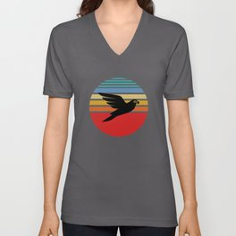 Budgie, Budgie colorful bird, Budgie vintage Unisex V-Neck