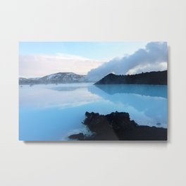 Blue Lagoon, Iceland Metal Print