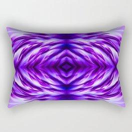 Cyber Monday   Purple Blue Night Rectangular Pillow