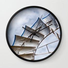 Prairie Pinwheel Wall Clock