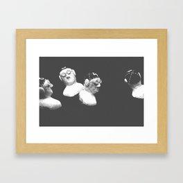 Keukenhof Swimmers Framed Art Print