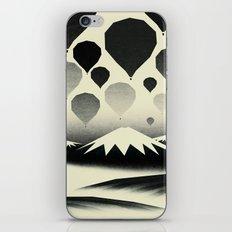 Morning wind balloons iPhone & iPod Skin